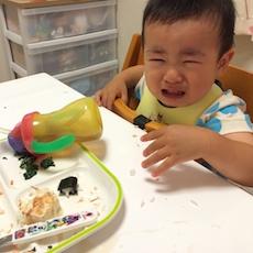 離乳食を食べてくれない1歳6ヶ月児