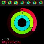 【Apple Watch】アクティビティリングの「ムーブ」が進まなくなったら