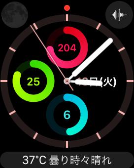 Apple Watchの文字盤
