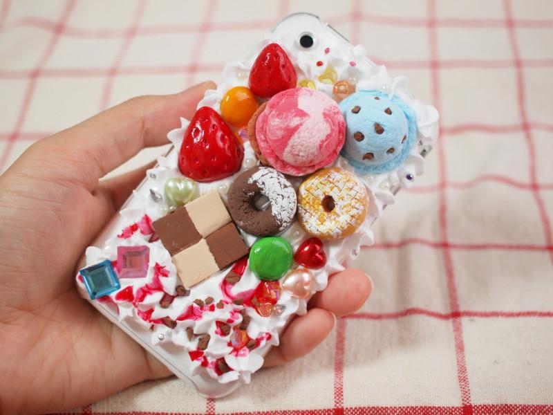iPhone3Gのスイーツデコ