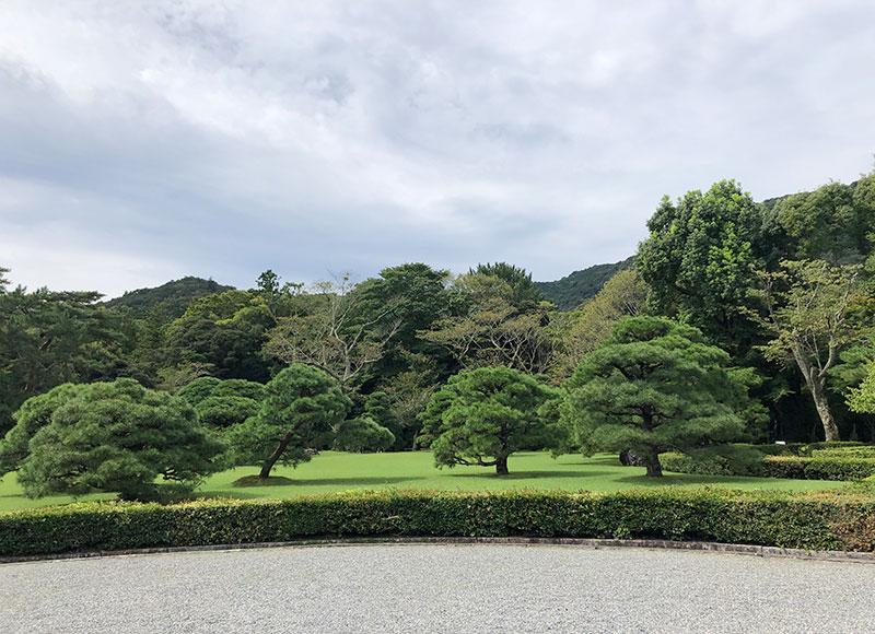 伊勢神宮 松の美しい神苑
