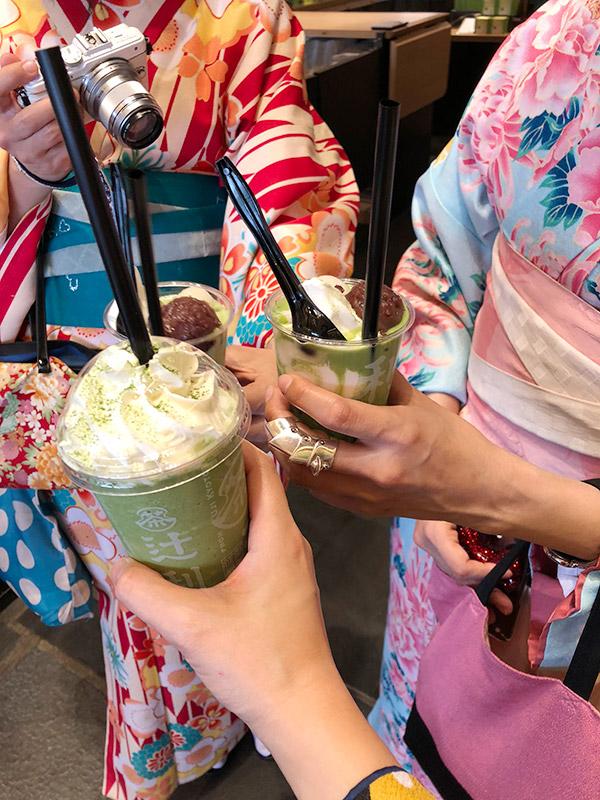 祇園辻利の抹茶スイーツ
