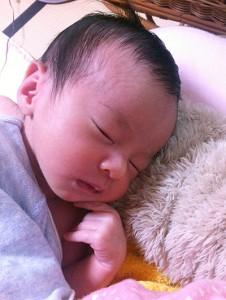 新生児期の写真