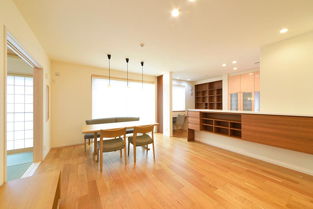 新居の竣工写真