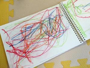 3歳の誕生日プレゼントに、オリジナルノート