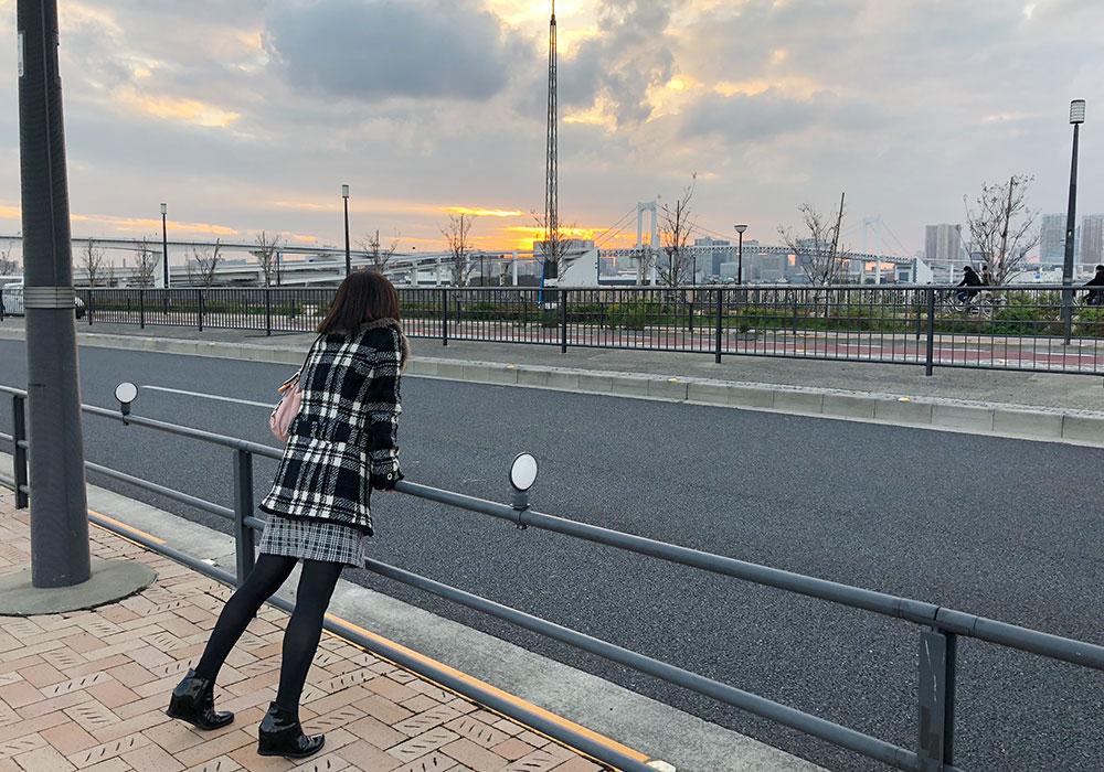 春田さんが牧くんにプロポーズした豊洲の富士見橋