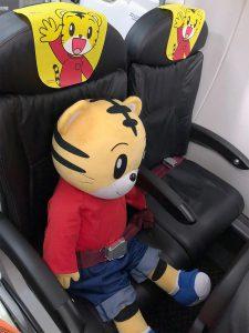 しまじろうジェットにしまじろうも搭乗してたよ!