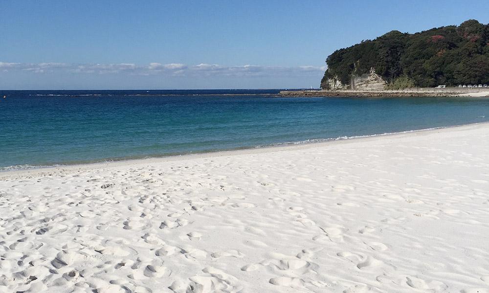 和歌山白浜の白良浜海水浴場
