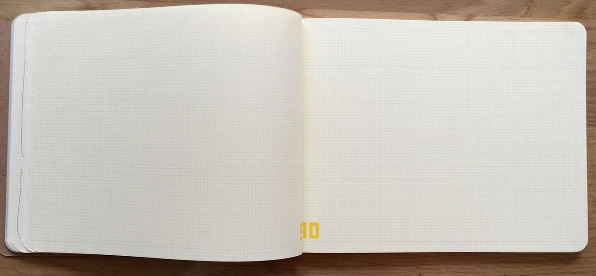 yPad7の方眼ページ